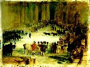 J.M.W.Turner funeral of sir thomas lawrence oil painting reproduction