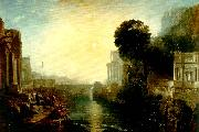 J.M.W.Turner dido building carthage oil painting
