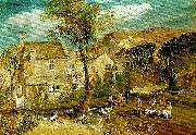 J.M.W.Turner caley hall oil painting