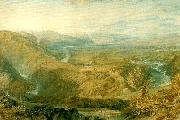 J.M.W.Turner crook of lune looking towards hornby castle oil painting