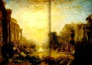 J.M.W.Turner the deline of the carthaginian empire oil painting
