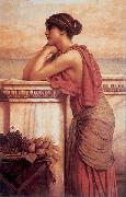 John William Godward By the Wayside oil painting reproduction
