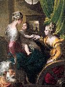 PARMIGIANINO Mystic Marriage of Saint Catherine oil painting reproduction