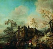Philips Wouwerman Wouwerman ratsanikud oil painting reproduction