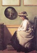 William Orpen The Mirror oil painting