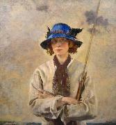 William Orpen The Angler oil painting