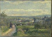 Camille Pissarro Vue de Saint-Ouen-l Aumone oil painting reproduction