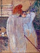 Henri de toulouse-lautrec Two Women in Nightgowns oil painting reproduction