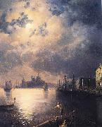 Ivan Aivazovsky Byron in Venice oil painting reproduction
