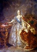 Ivan Argunov Portrait of Catherine II of Russia oil painting