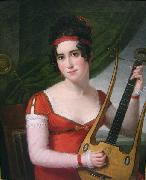 Robert Lefevre lyre oil painting reproduction