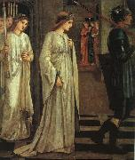 Sir Edward Burne-Jones The Princess Sabra Led to the Dragon Painting Date oil painting