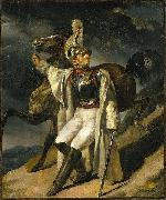 Theodore   Gericault Wounded Cuirassier oil painting reproduction