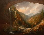Wall, William Guy Cauterskill Falls on the Catskill Mountains oil painting