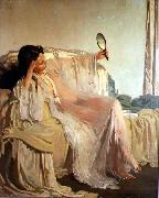 William Orpen The Eastern Gown oil painting