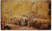 William Salter Sketch of the 1836 Waterloo Banqet by William Salter oil painting