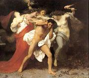 William-Adolphe Bouguereau The Remorse of Orestes or Orestes Pursued by the Furies oil painting
