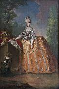 Workshop of Anton von Maron Maria Luisa of Spain oil painting