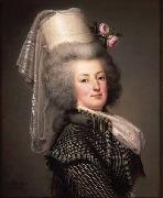 Adolf Ulrik Wertmuller Queen Marie Antoinette of France oil painting