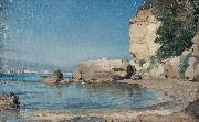 Albert Hertel Italienische Landschaft oil painting reproduction