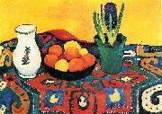 August Macke Hyazinthenteppich oil painting reproduction