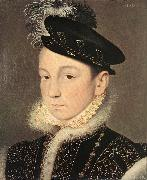 Francois Clouet Portrait of King Charles IX oil painting