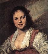 Frans Hals Gypsy Girl oil painting reproduction