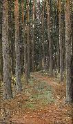 Otto Hesselbom The Forest oil painting