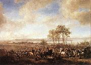 Philips Wouwerman The Horse Fair oil painting