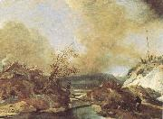 Philips Wouwerman Dune Landscape oil painting