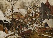 Pieter Brueghel the Younger The Adoration of the Magi oil painting