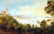 Thomas Lyde Hornbrook Vista do Outeiro da Gloria oil painting