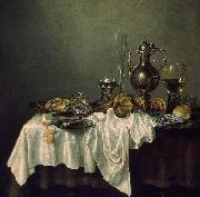 Willem Claesz. Heda Breakfast of Crab oil painting