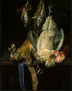 Willem van Aelst Still Life with Dead Game oil painting