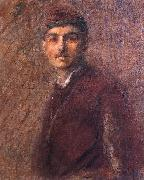 Wladislaw Podkowinski Self-portrait oil painting