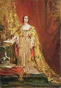 George Hayter Queen Victoria taking the Coronation Oath oil painting reproduction