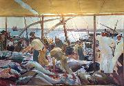 Joaquin Sorolla Ayamonte oil painting reproduction