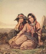 Thomas Sully Gypsy Maidens oil painting reproduction