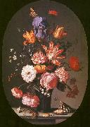 AST, Balthasar van der Flowers in a Glass Vase China oil painting reproduction