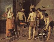 Diego Velazquez Vulcan's Forge oil painting reproduction