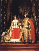 Sir Edwin Landseer Queen Victoria and Prince Albert at the Bal Costume of 12 may 1842 oil painting reproduction
