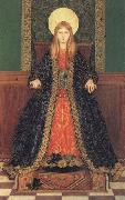 Thomas Cooper Gotch The Child Enthroned oil painting