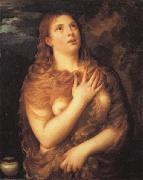 Titian Mary Magdalen oil painting