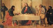 Vincenzo Catena The Supper at Emmaus oil painting