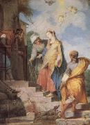 Vleughels Nicolas The Visitation oil painting