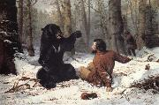 Tait Arthur Fitzwilliam The Life of a Hunter:A Tight Fix oil painting