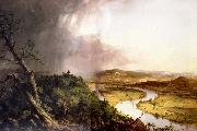 Thomas Cole Vue du mont Holyoke,pres de Northampton dans le Massachusetts Apres l'orage oil painting reproduction