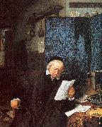 Ostade, Adriaen van Lawyer in his Study oil painting