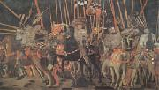Paolo di Dono called Uccello The Battle of San Romano (mk05) oil painting