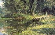 Polenov, Vasily Overgrown Pond oil painting reproduction